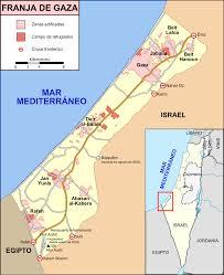Gaza mapa